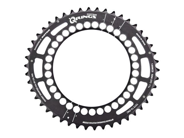 Rotor Q-Ring - Plateau - extérieur 130 mm 46 dents 5 trous noir